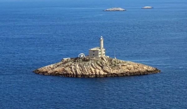 la piccola isola Blitvenica