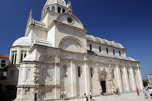 Sibenik cattedrale di San Giacomo