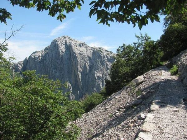 monte Velebit in Croazia