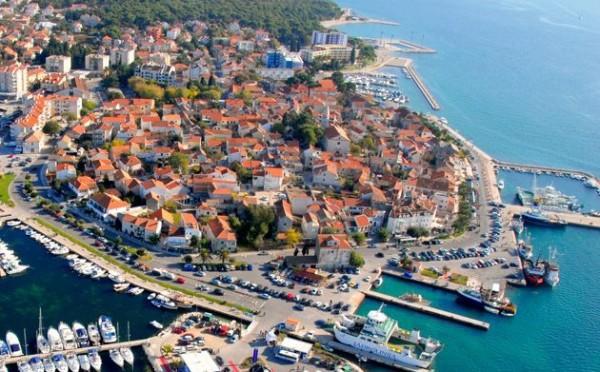 città di Biograd na Moru vicino a Zara