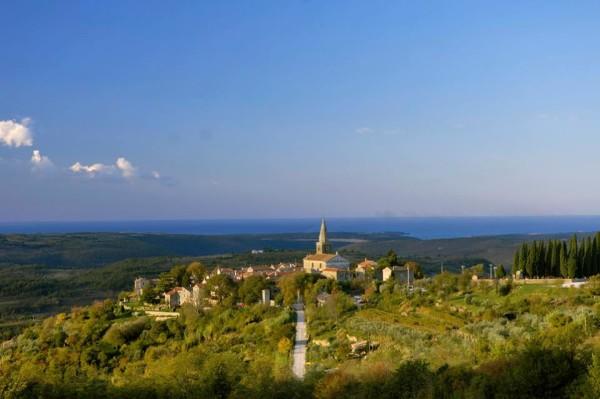 Groznjan in Istria