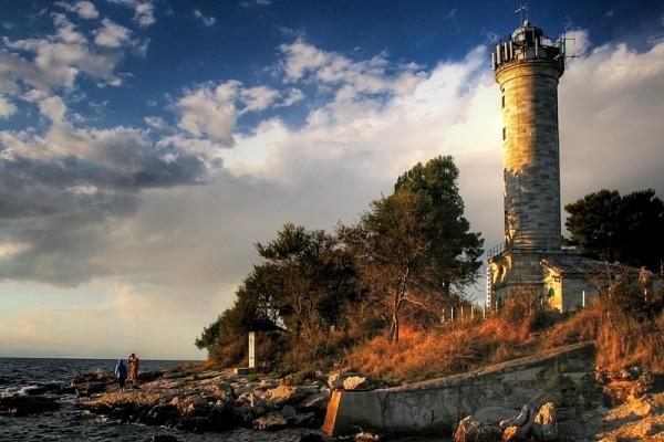 Savudrija penisola istriana faro e spiagge