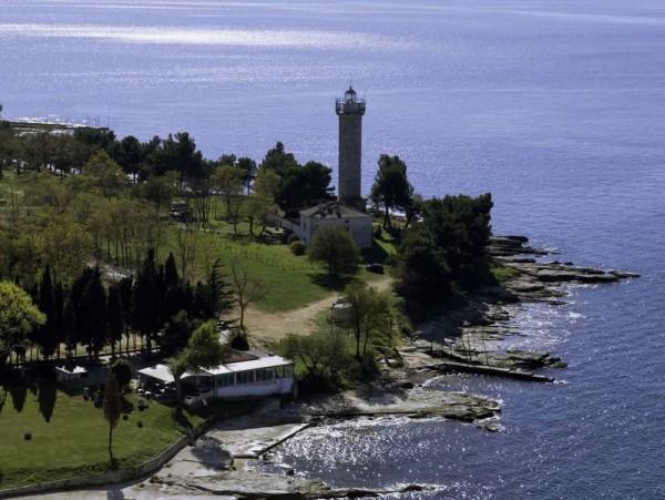 Faro di Savudrija a Umag