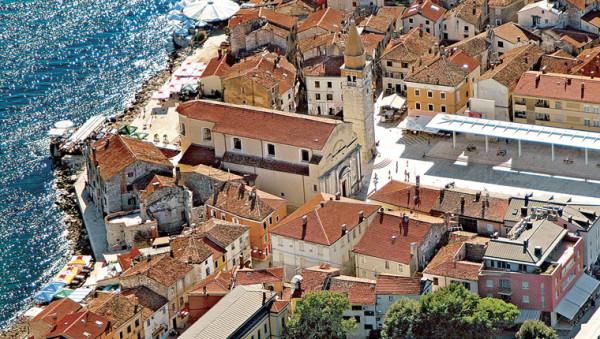 Umag centro turistico di Istria