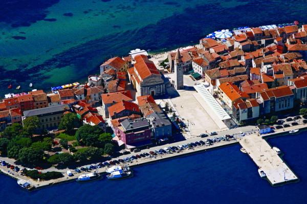 città di Umag nella penisola Istriana