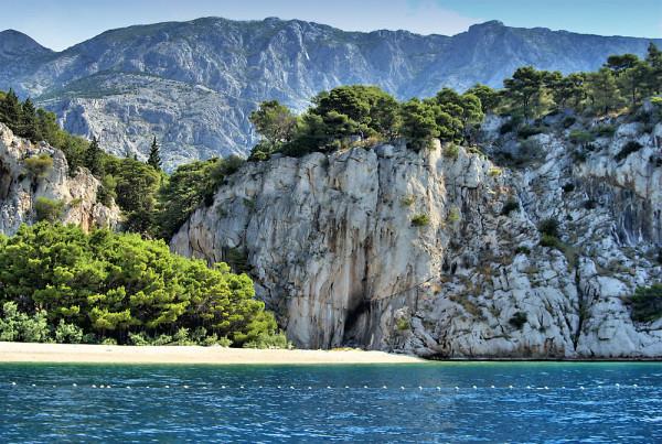 Vaska Voda sulla Riviera di Makarska