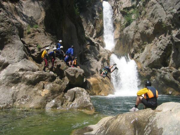 cascata Gubavica sul fiume Cetina