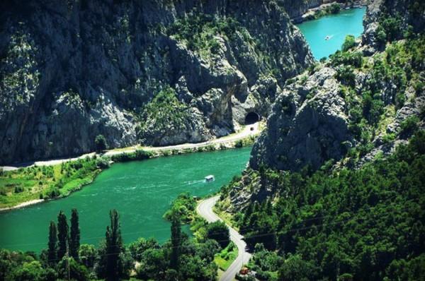 il corso del fiume Cetina