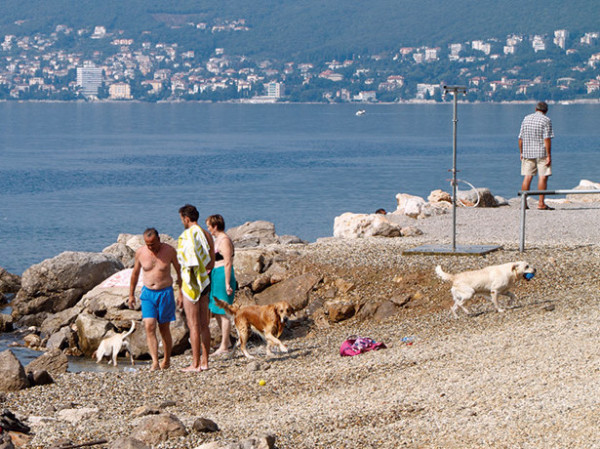 Spiaggia di Ika Riviera di Opatija