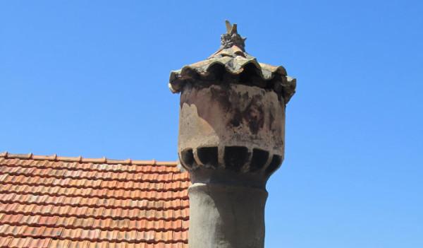 Lastovo decorazioni sui tetti delle case dell'isola i furmari