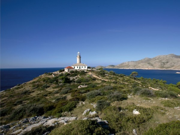 Faro sull'isola Lastovo