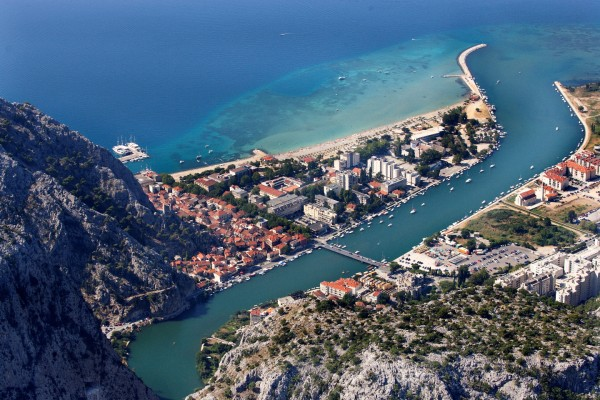 Omis in Dalmazia