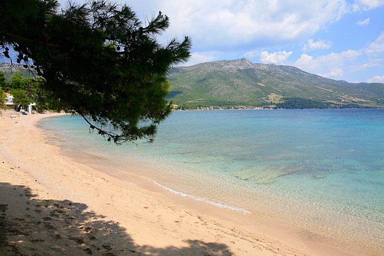Trstenica spiaggia di Orebic