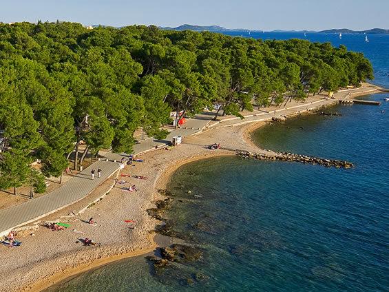 Spiaggia Soline campeggio Soline
