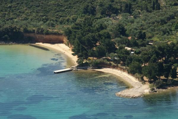 baia di Sovinje a Tkon sull'isola Pasman