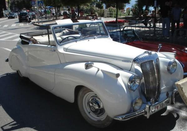 auto storiche ad Opatija