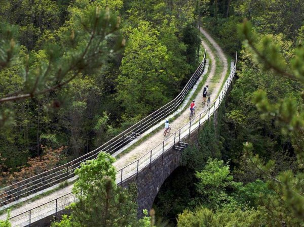 ferrovia Parenzana in Istria