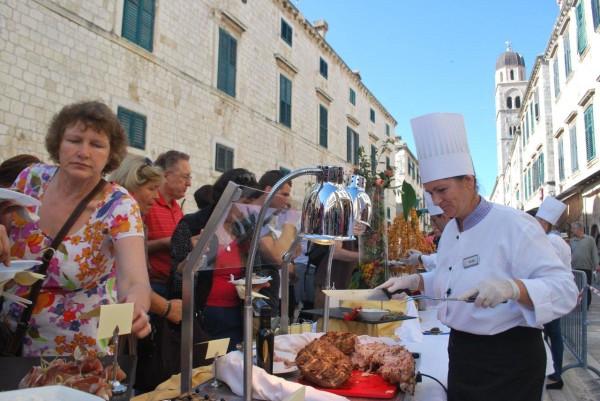 Festival del buon cibo a Dubrovnik