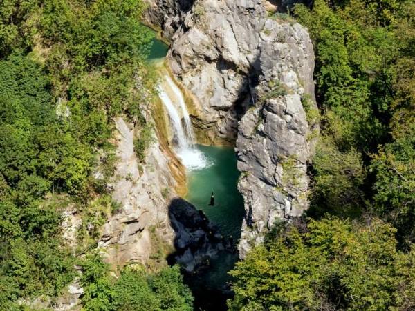 i canyon del fiume Cetina