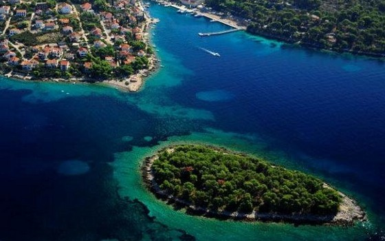isola Solta nell'arcipelago della Dalmazia Centrale