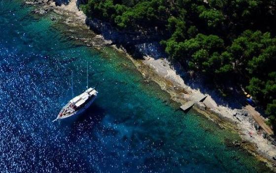 Solta arcipelago della Dalmazia centrele