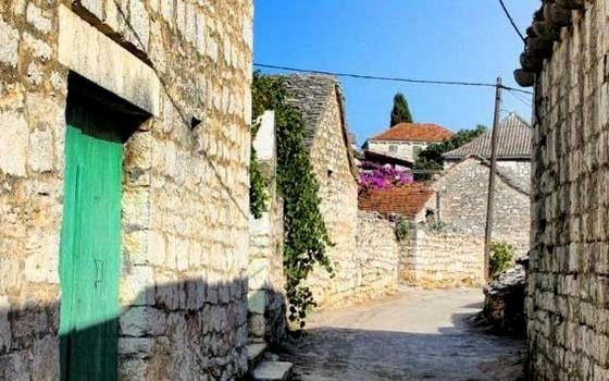 Solta case tradizionali di pietra