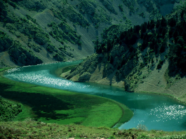 fiume Zrmanja in Dalmazia