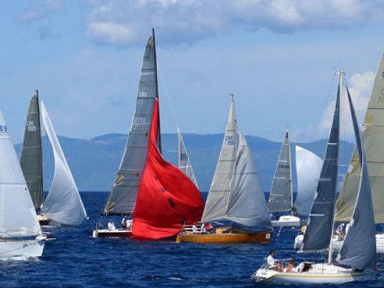 regata nel sud della Dalmazia