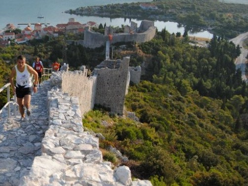 Ston maratona sulle mura nella penisola di Peljesac