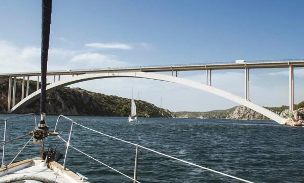 navigare in Croazia in barca a vel