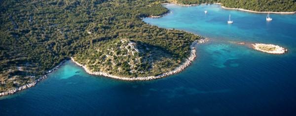 isola Ist baie e insenature nell'arcipelago Zaratino