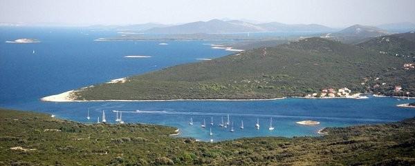 Ist panorami dall'arcipelago di Zara