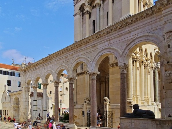 da fare a Spalato in Dalmazia: visita al Palazzo di Diocleziano