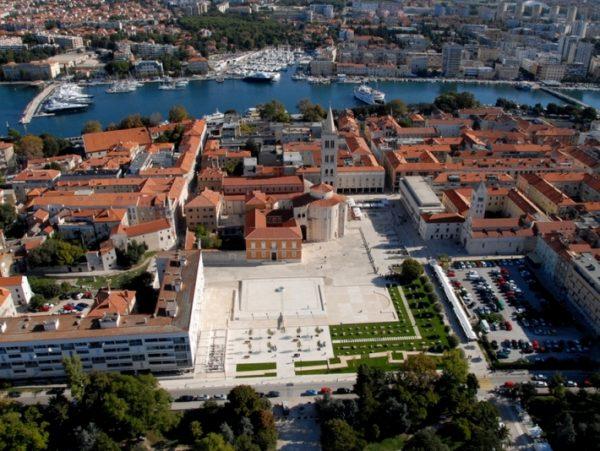 città di Zara centro storico