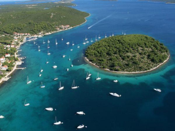isola Molat nell'arcipelago Zaratino