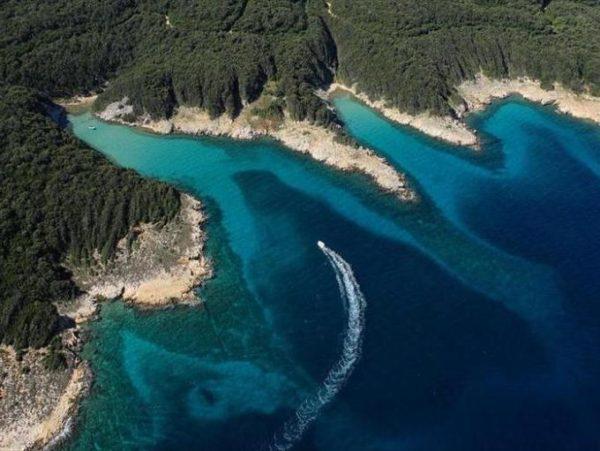 Suha Punta sull'isola Rab