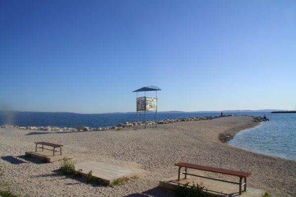spiaggia Kastelet di Spalato