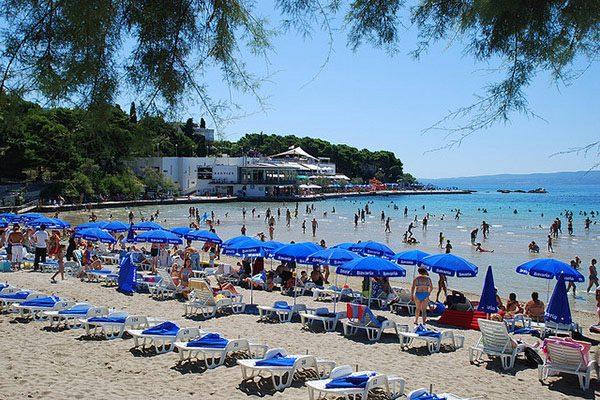 Bacvice una delle più belle spiagge a Spalato