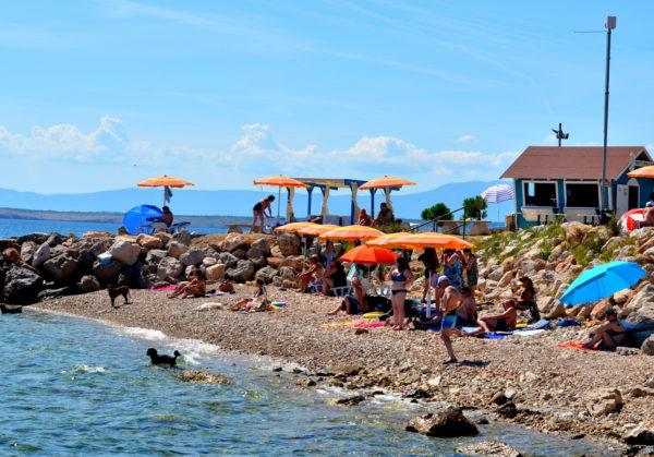spiagge a Crikvenica Monty's spiaggia per cani