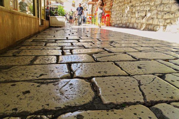 strade e vicoli della città di SPalato