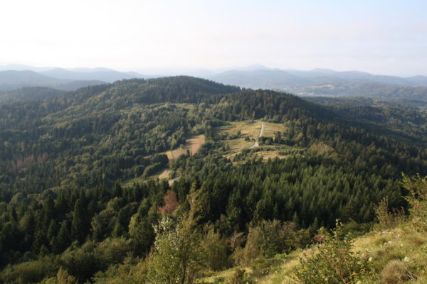 Gorski Kotar panorami e montagne