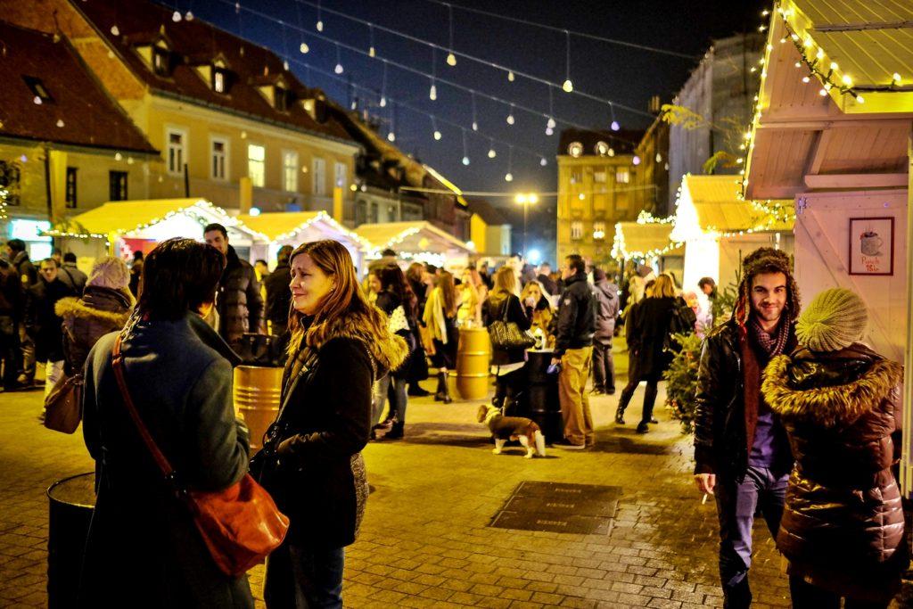 passeggiare a Zagabria mercatino di Natale e festività dell'Avvento