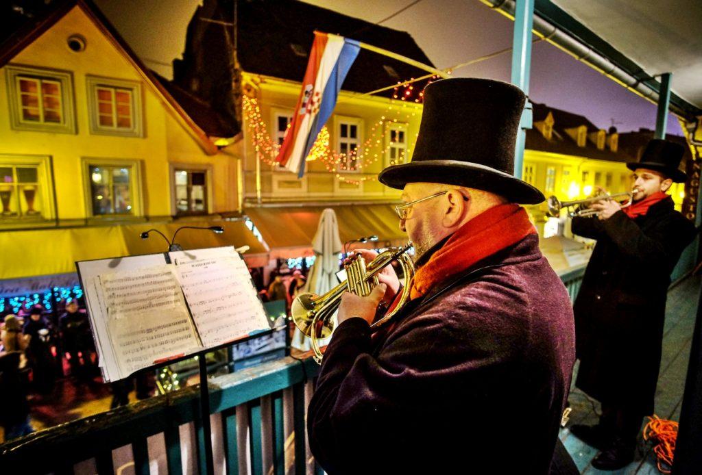 musica di Natale e festeggiamenti dell'Avvento a Zagabria