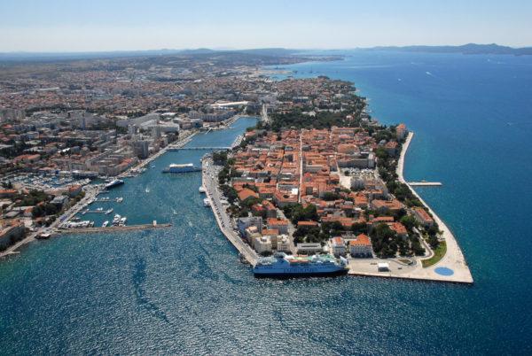 città di Zara in Dalmazia