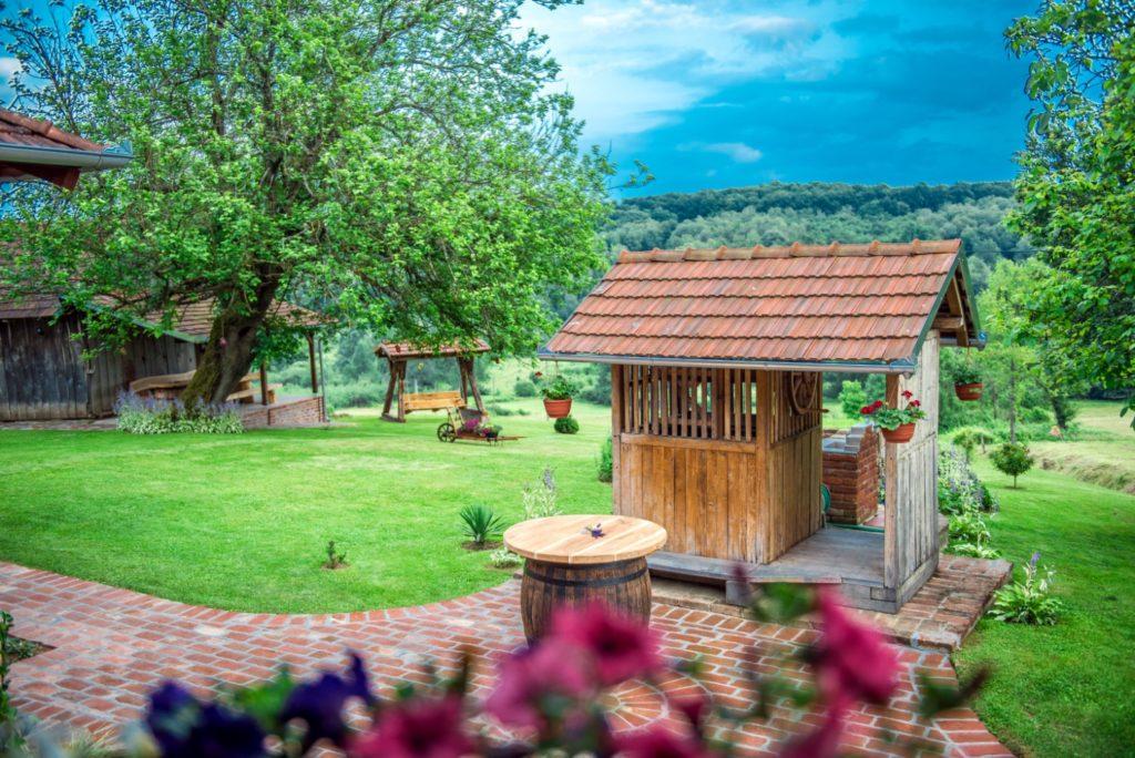 la regione del Bjelovar-Bilogora tra colline e boschi rigogliosi