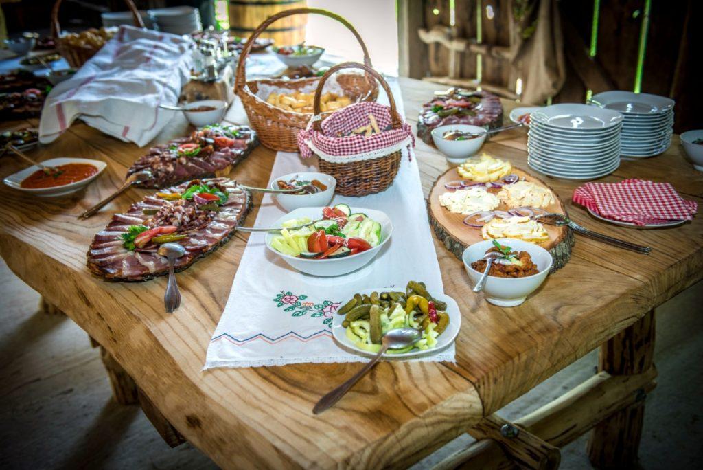 pranzi e colazioni tradizionali nel Bjelovar-Bilogora