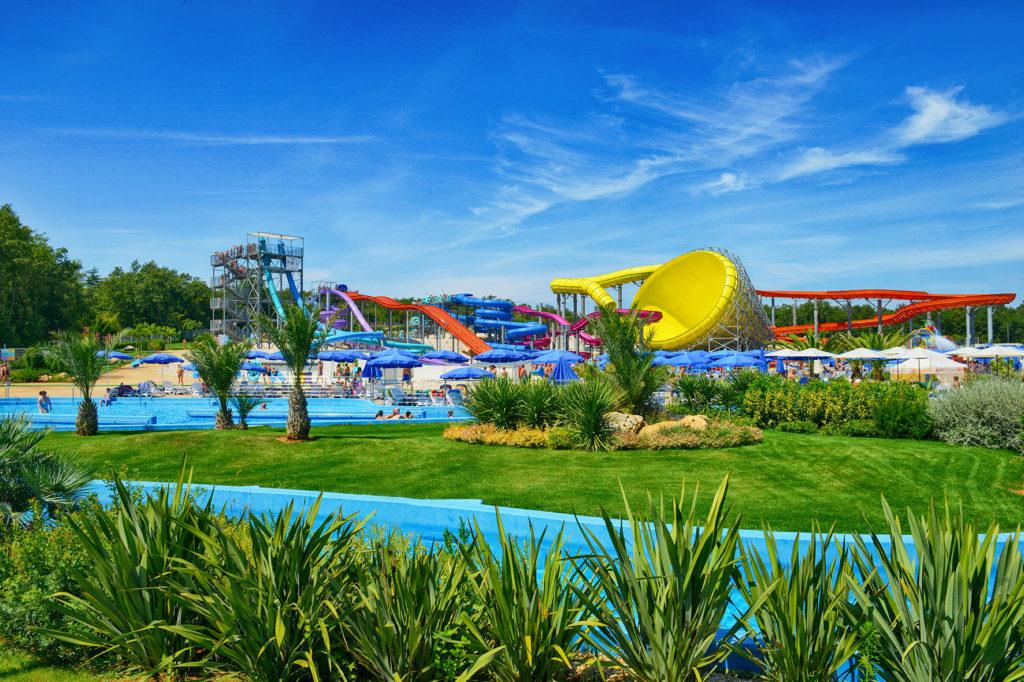 Aquacolors Porec parco acquatico in Istria