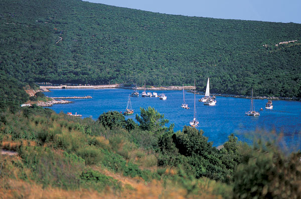 isola Unije arcipelago di Cres e Lussino, navigare tra le isole della Croazia