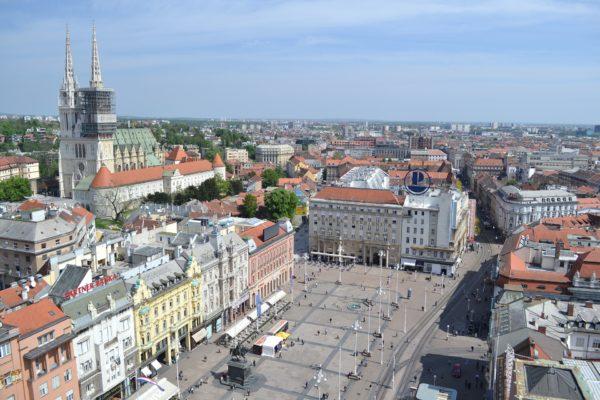 La capitale della Croazia, Zagabria