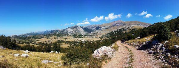 Sentieri tra le montagne della Croazia